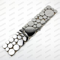 borer stainless stell mosaic 1pc Loop Miroir
