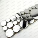 borer stainless stell mosaic 1pc Loop Miroir