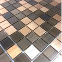 stainless steel backsplash kitchen mosaic shower cm-soul