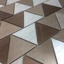 Mosaic aluminium splashback kitchen mosaic shower Cox