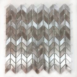 mosaique aluminium douche salle de bain Brony