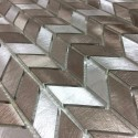 Mosaic aluminium splashback kitchen mosaic shower Brony