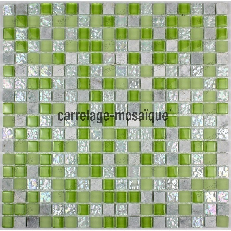 mosaique verre et pierre douche italienne salle de bain samba 1m2 carrelage mosaique. Black Bedroom Furniture Sets. Home Design Ideas
