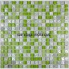 Glass and stone mosaic shower bathroom splashback  samba 1sqm