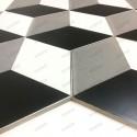 Carreaux ciment imitation carrelage decoration cube