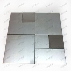 mosaico ducha acero cocina baño cm-chonga