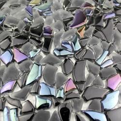 Mosaic tiles glass 1sqm Osmose noir