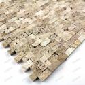 Stone Mosaic cinza beige 1sqm
