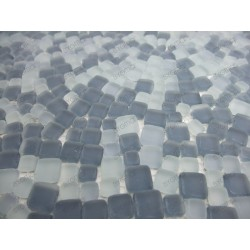 muestra mosaico vidrio Mini Mosaique
