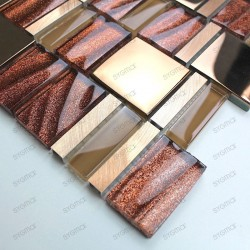 sample glass mosaic for shower mv-glit