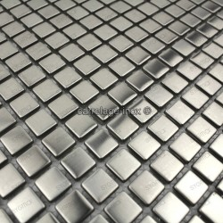 Mosaico de acero inxidable para cocina y ducha model Alea