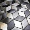 Mosaico de Aluminio muestra para cocina y banos modelo Hiba
