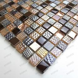 sample glass mosaic for shower, splashback Inesse