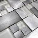 Mosaico de Aluminio muestra para cocina y banos
