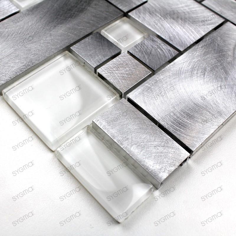 echantillon aluminium aspen carrelage mosaique. Black Bedroom Furniture Sets. Home Design Ideas