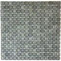 sample of glass mosaic for shower bathroom crystal gris