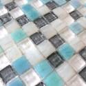 muestra mosaico vidrio para suelo de ducha y muro Crystal Holly
