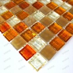 muestra mosaico de vidrio para ducha italiana Crystal icon