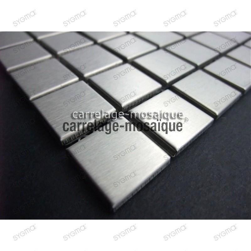 sample of stainless stell mosaic for splashback kitchen Regular 20
