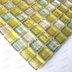 Echantillon - verre - Crystal jimy