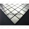 sample of stainless stell mosaic for kitchen splashback Regular 30