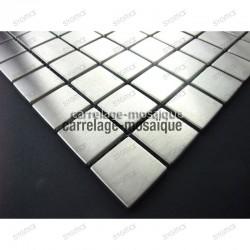 Mosaico de acero inxidable para cocina y ducha Muestra Regular 30