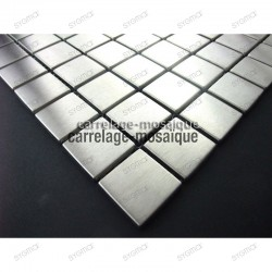sample of stainless stell mosaic for kitchen splashback Regular 30