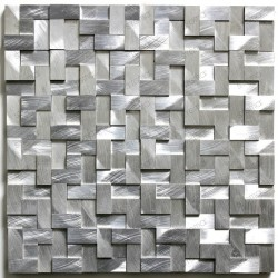 Carrelage aluminium credence cuisine konik echantillon