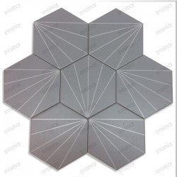 Carreaux ciment imitation carrelage decoration Fyler