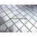 Mosaico de Aluminio muestra para cocina y banos Alu 20