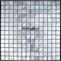 Aluminium mosaic sample for splashback worktop kitchen alu 20