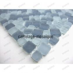 mosaico de vidrio en muestra para ducha italiana Mini mosaique