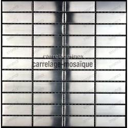 Mosaique inox cuisine pas cher rectangular 74 echantillon