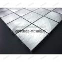 Mosaico de Aluminio para encimera cocina y banos Alu 48 muestra