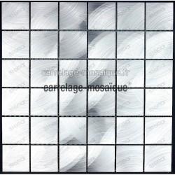 Mosaique cuisine et douche echantillon alu 48