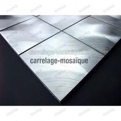 Mosaico de Aluminio para cocina y banos muestra Alu98