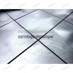 Carrelage aluminium credence de cuisine ech Alu 48