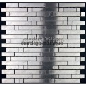 sample of stainless stell mosaic for splashback sample mixte 98