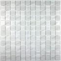 Glass mosaic shower bathrrom sample mat blanc 23