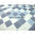 glass mosaic for floor shower sample mat gris