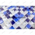 Mosaico vidrio ducha italiana Iris muetsra