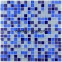Glass mosaic sample italian shower Iris