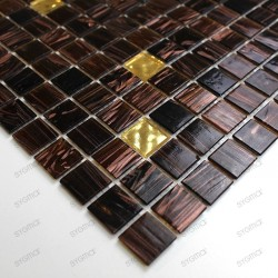 Mosaique douche italienne goldline vogue ech