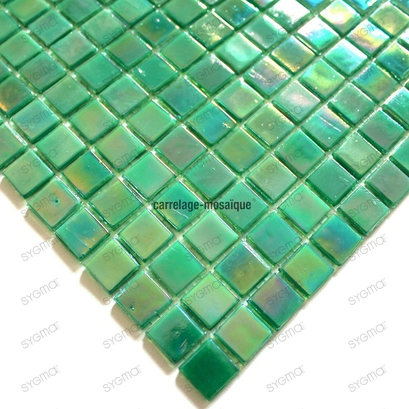 echantillon pate de verre rainbow jade carrelage mosaique. Black Bedroom Furniture Sets. Home Design Ideas