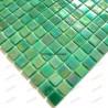 Mosaico pasta de vidrio de cocina rainbow Jade