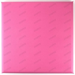 Faux leather panels 30 x 30 cm rose