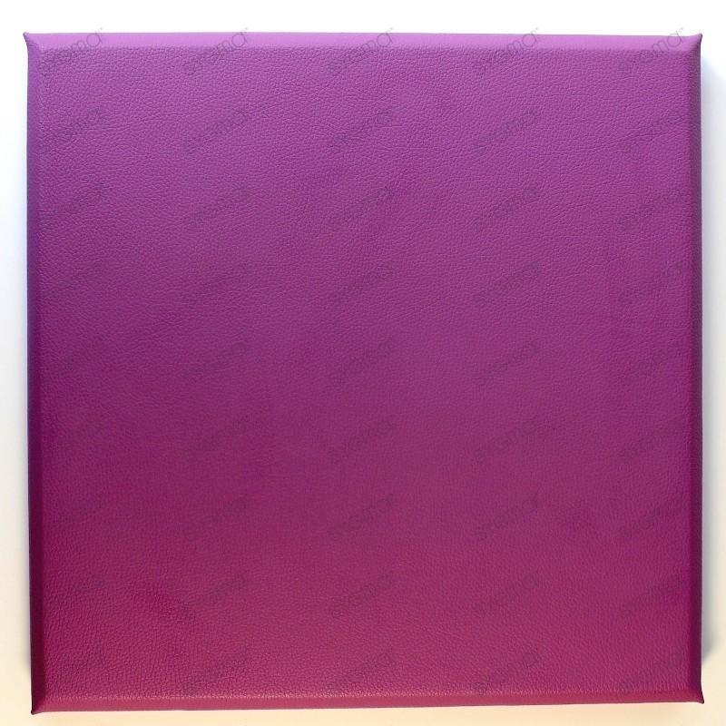 Panneaux simili cuir 30x30 cm Lila tete de lit
