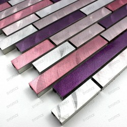 échantillon aluminium Blend Violet