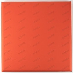 Faux leather panels 30 x 30 cm Orange