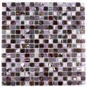 Mosaico de piedra en muestra